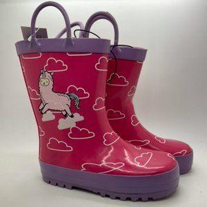 Girls Boots KomforMe Llama Pink/Lilac Pull on